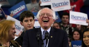 Bernie Sanders leads in donations from workers at Amazon, Google
