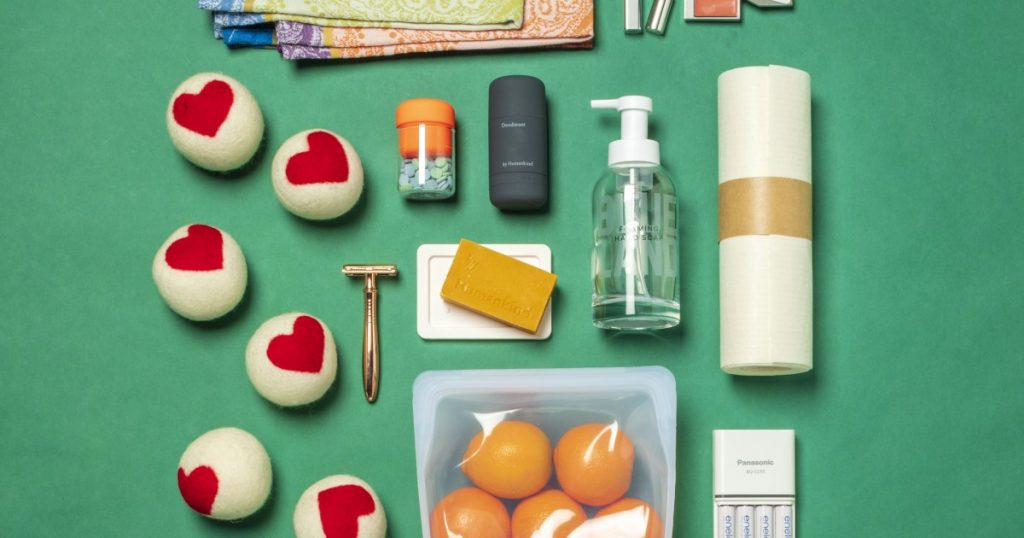 Reusable alternatives for single-use household products