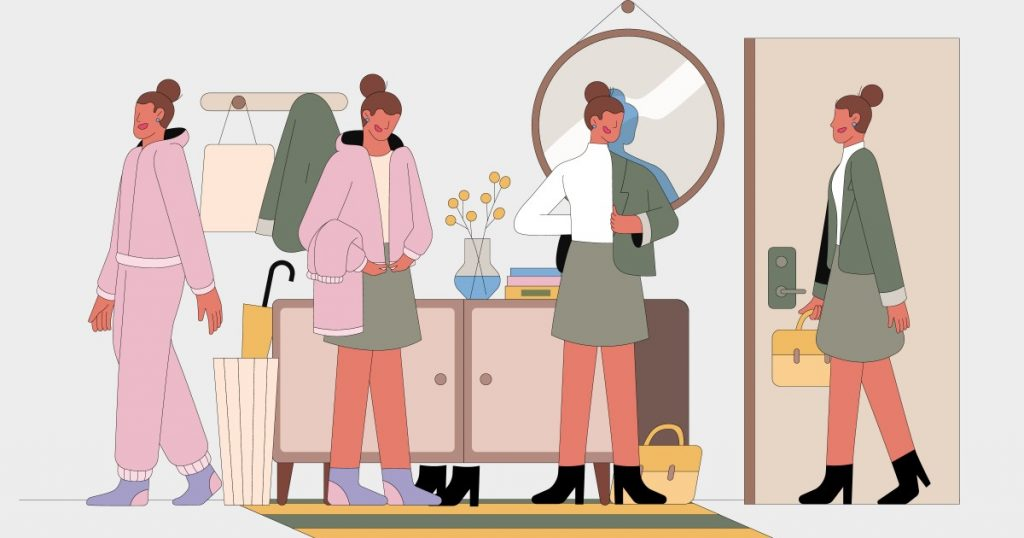 Working from home now? It's time to seriously define your home uniform