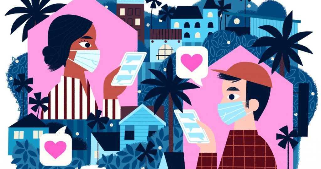 L.A. Affairs: I'm single during a pandemic. My dating life has never been better