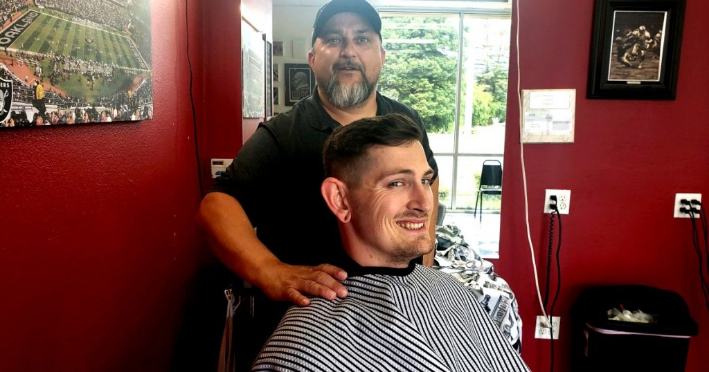 He drove more than 600 miles for a haircut. He's not alone