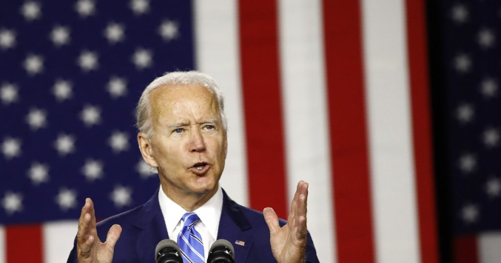 Joe Biden sets out aggressive plan to tackle climate change