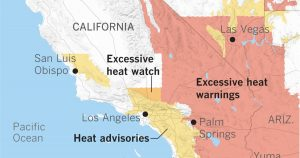 Scorching heat expected for Southern California this weekend