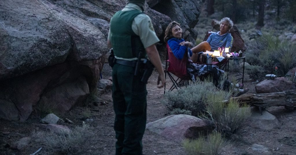 Illegal campfires spark fear of wildfire in California