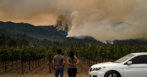 Glass fire quadruples in size, 80 Napa Valley homes burn
