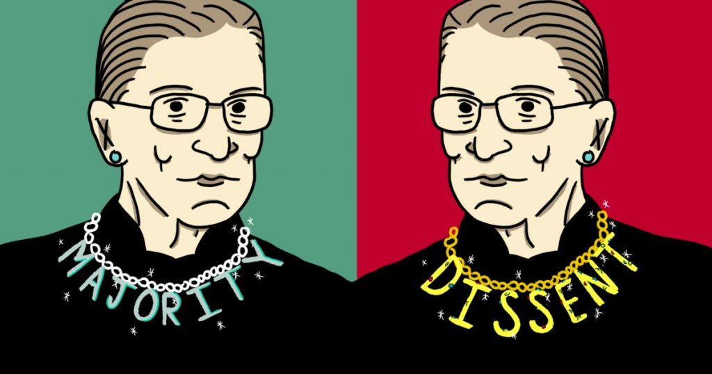 Life lessons from Ruth Bader Ginsburg's iconic collars