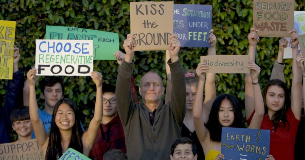 'Kiss the Ground' review: A hopeful Netflix climate doc