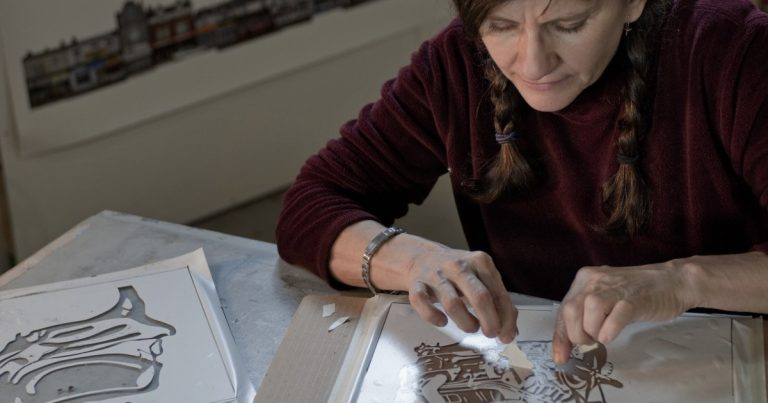 Kim Abeles brings wildfire ash into her Smog Collectors art