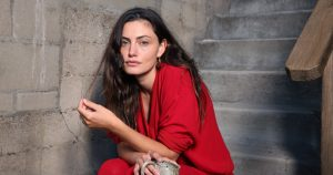 Actress Phoebe Tonkin's loungewear provides COVID-19 comfort