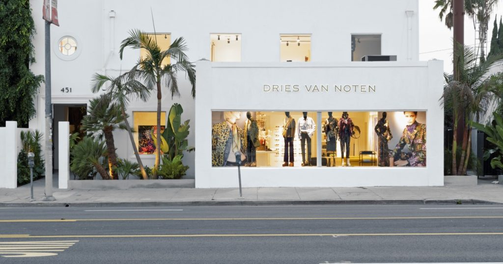 Designer Dries Van Noten opens his first U.S. store in L.A.