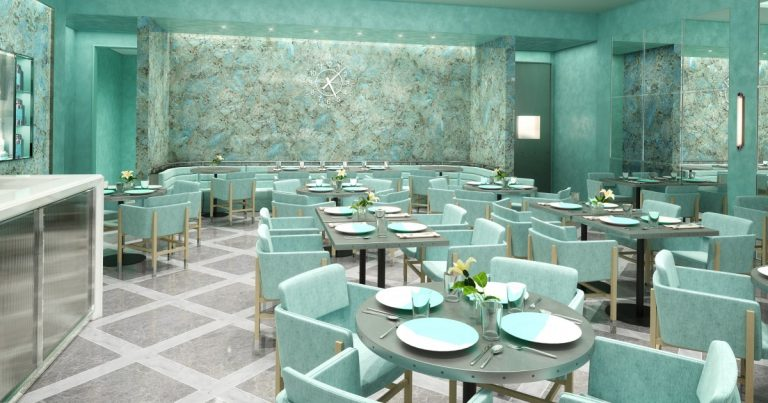 Tiffany & Co. is opening a Blue Box Cafe in Orange County
