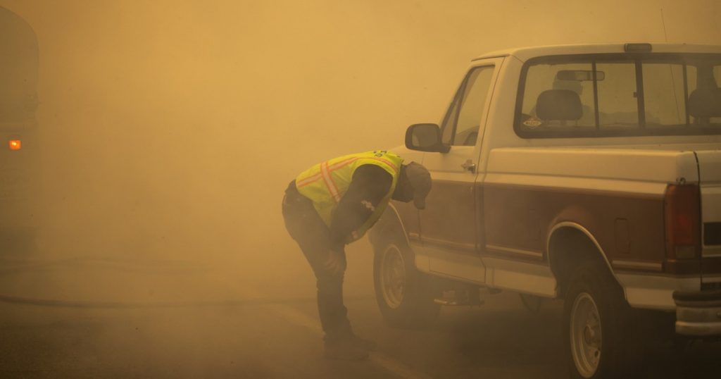 Fires bring unhealthiest air in nation to Southern California
