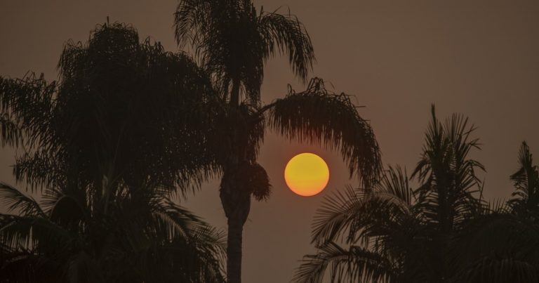 Fire-dampening rain for California fizzles; more heat and possible Santa Ana winds are on the way