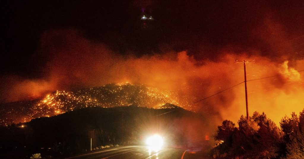 Fires in Eastern Sierra fueled by winds like Santa Anas