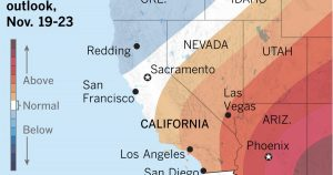 Sunday and Monday will begin 'a quick trip back to summer' in L.A. region, forecasters say
