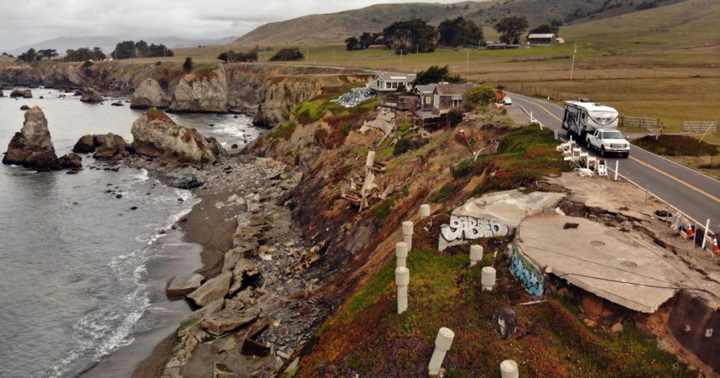 Eroding coast paves way for 'managed retreat' in California