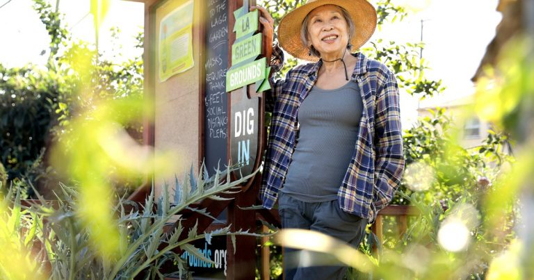 In South L.A., a gardener teaches people how to grow food