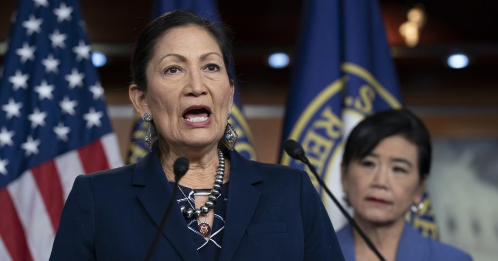 Biden picks Haaland, a Native American, to head Interior