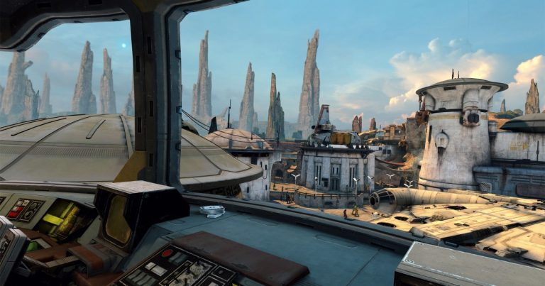 'Star Wars' VR game gets us closer to theme park 'metaverse'