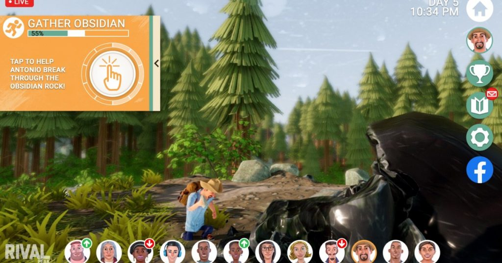 'Rival Peak': Reality TV meets video games ... on Facebook?