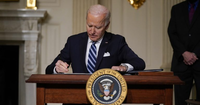 Biden orders sweeping actions to fight climate change