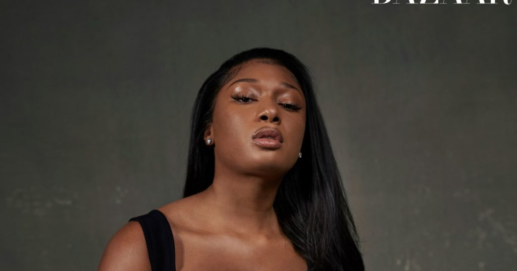 Megan Thee Stallion fans slam Harper's Bazaar photo shoot