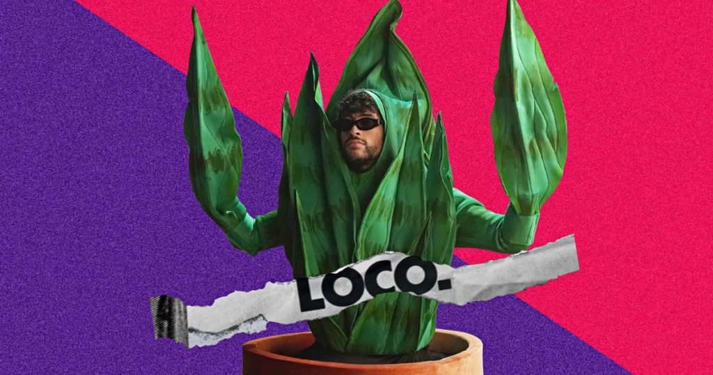 How Latin icon Bad Bunny became a plant person on 'SNL'