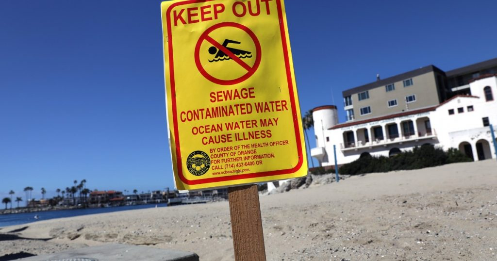 1,000-gallon sewage spill shuts part of Newport Beach bay