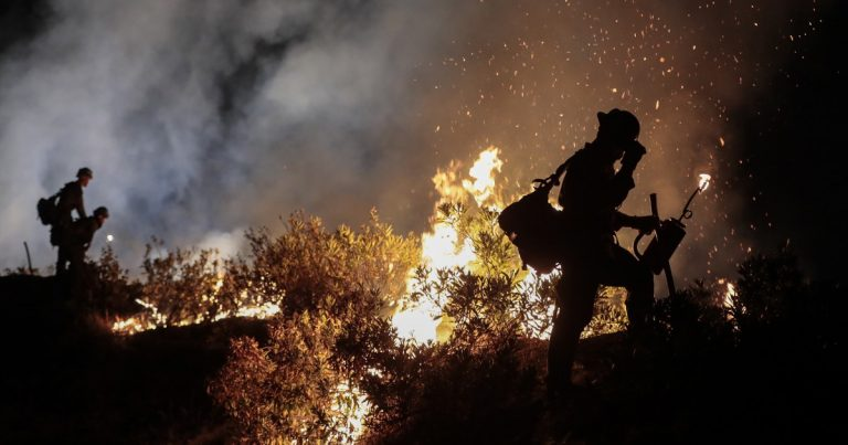 Firefighters warn of low staffing for California wildfires