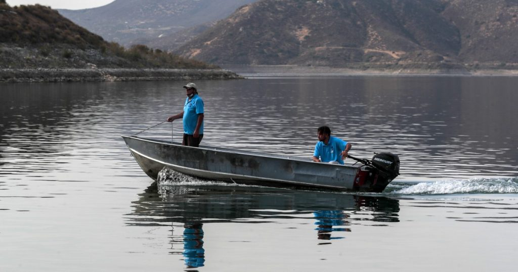 Massive lake busts Southern California drought, for now