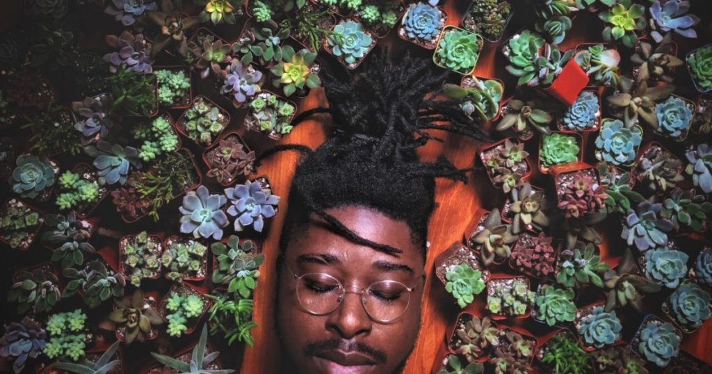 This L.A.-based artist founded an Instagram community that uplifts Black men in the plant world